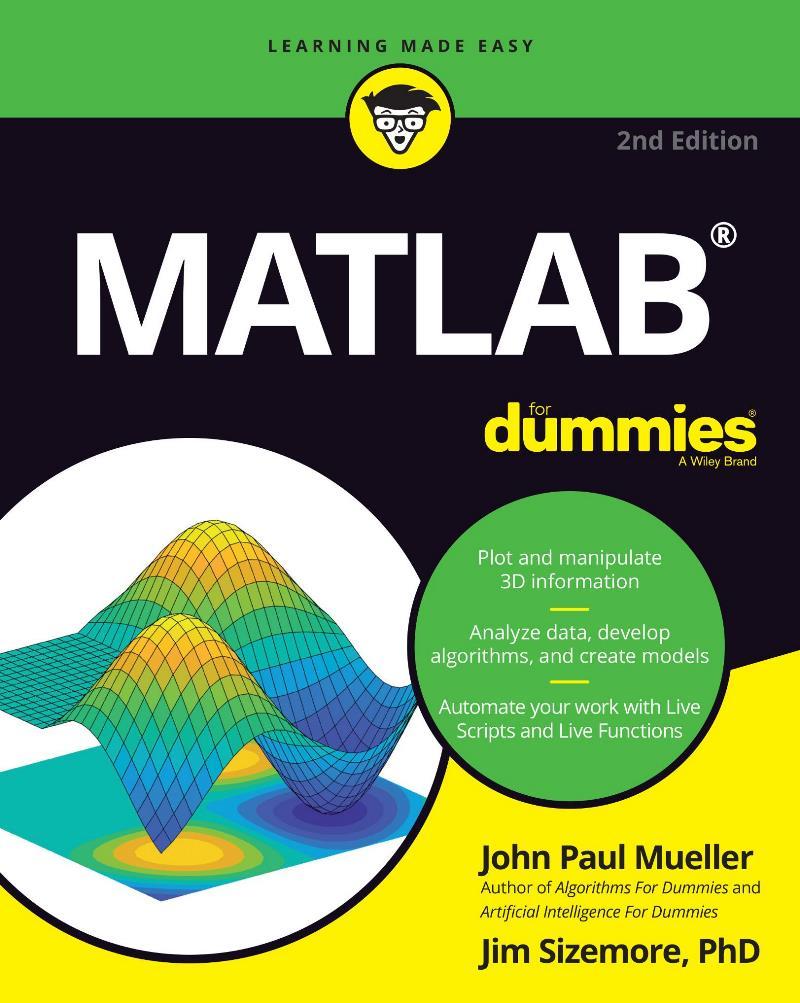 MATLAB for Dummies, 2nd Edition – John Paul Mueller