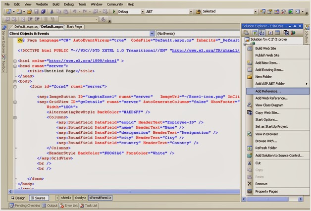 Export data from DataTable to Excel in ASP NET using C#  | Ready To