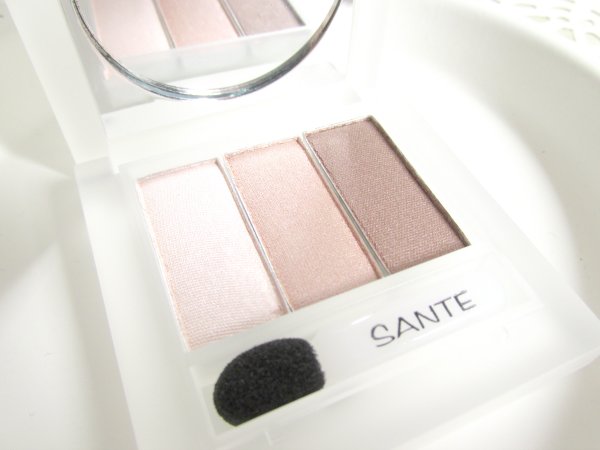 Sante Eyeshadow Trio - 03 Rose Wood - Inhaltsstoffe