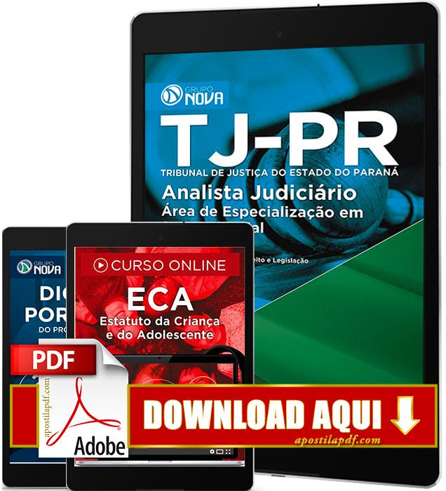Apostila TJ PR 2016 PDF Download Analista Judiciário Serviço Social
