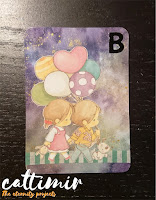52 cafe cards Balloon