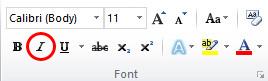 Cara Memiringkan Huruf di Microsoft Word