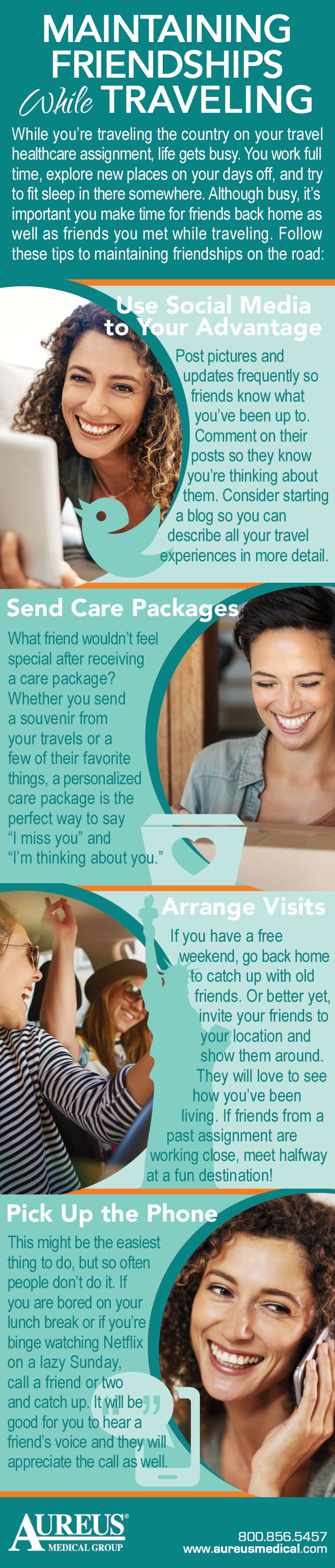 Maintaining Friendships While Traveling #infographic #Travel #infographics #Friendship #Maintaining Friendships