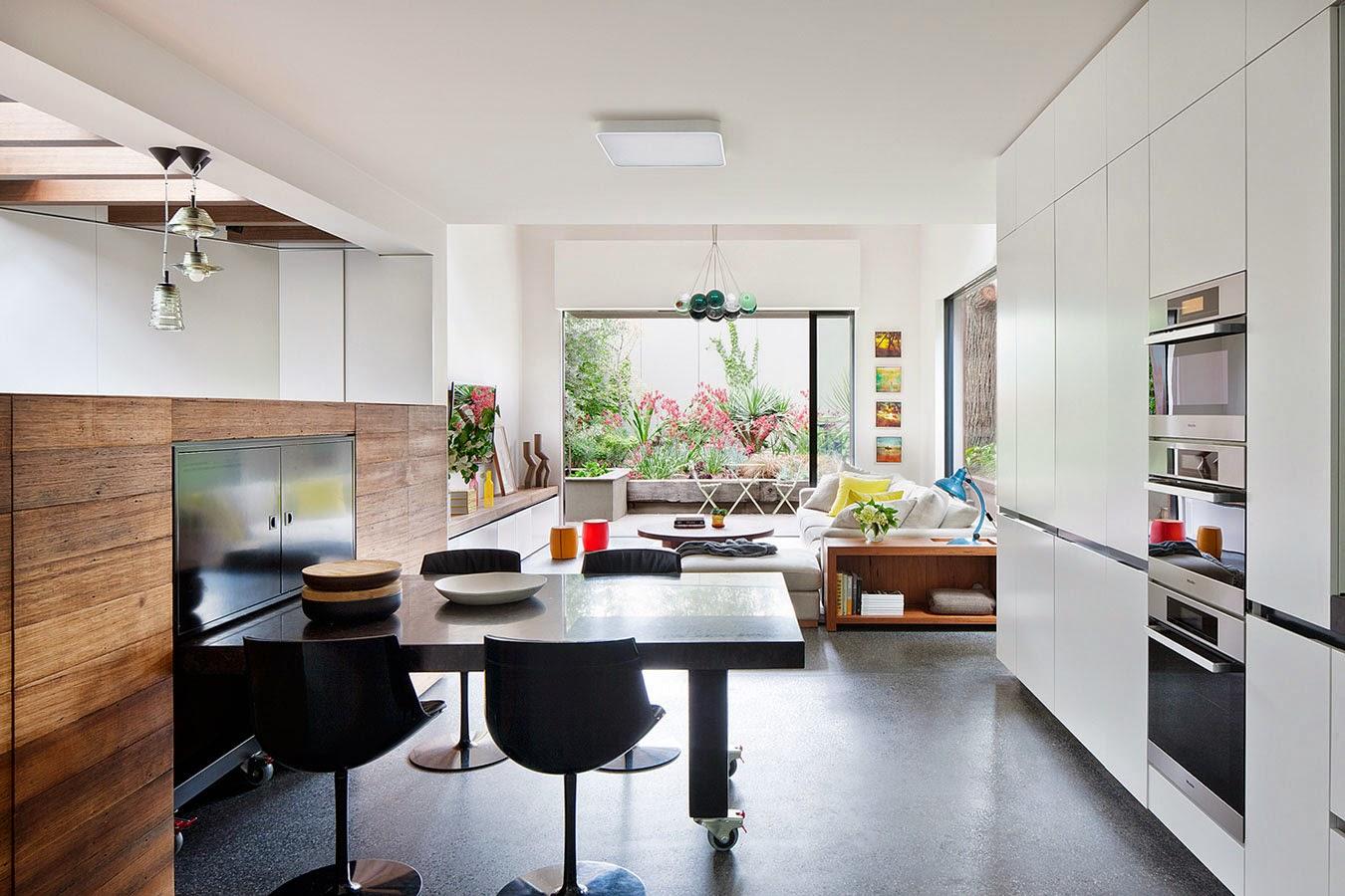 Rehabilitación de una casa antigua con aspecto moderno en Melbourne