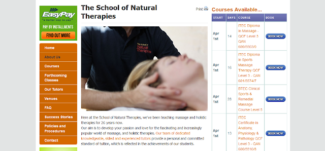 leading provider of holistic and massage therapy courses