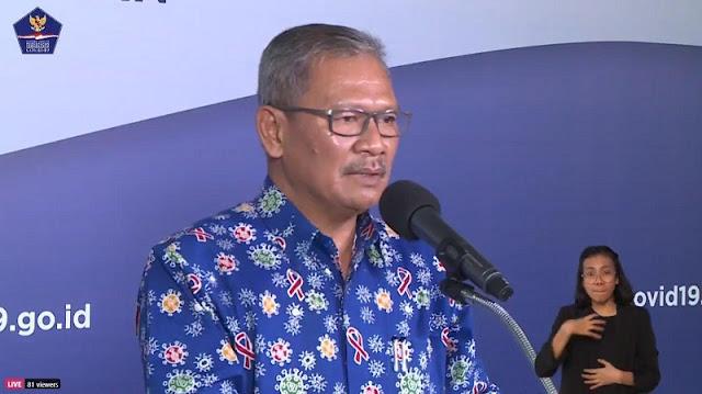 Juru Bicara Pemerintah untuk Penanganan Covid-19 Achmad Yurianto - Update Terbaru Corona RI Per 1 Mei: Positif 10.551 orang, Sembuh 1.591 dan Meninggal 800