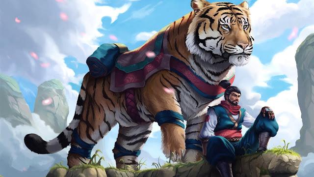Papel de Parede Tigre Siberiano 4k