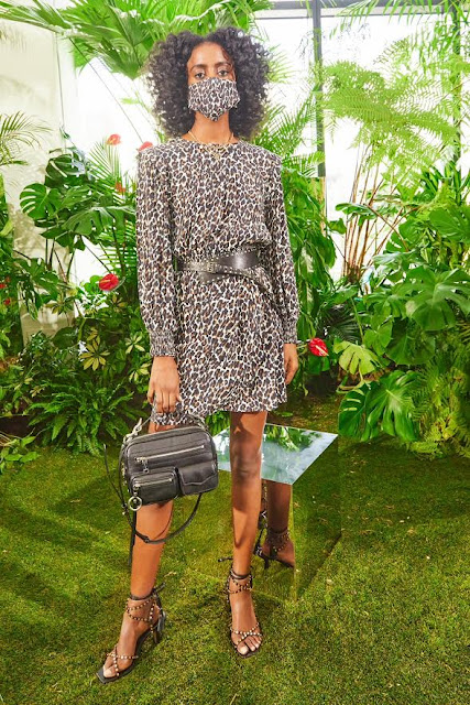 Rebecca Minkoff Spring Summer 2021 SS21 at New York Fashion Week at Spring Studios by fashion blogger Kelly Fountain