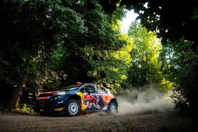 Citroen C3 WRC Car on Rally Turkey