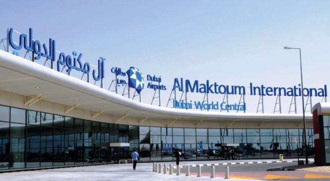 مطار آل مكتوم الدولي Al Maktoum International Airport