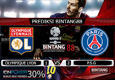 PREDIKSI SKOR OLYMPIQUE LYON VS PSG 23 SEPTEMBER 2019