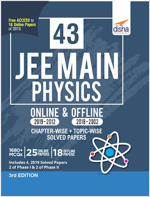Disha 43 JEE Main Physics Solved Papers (2002-2019) Pdf Download