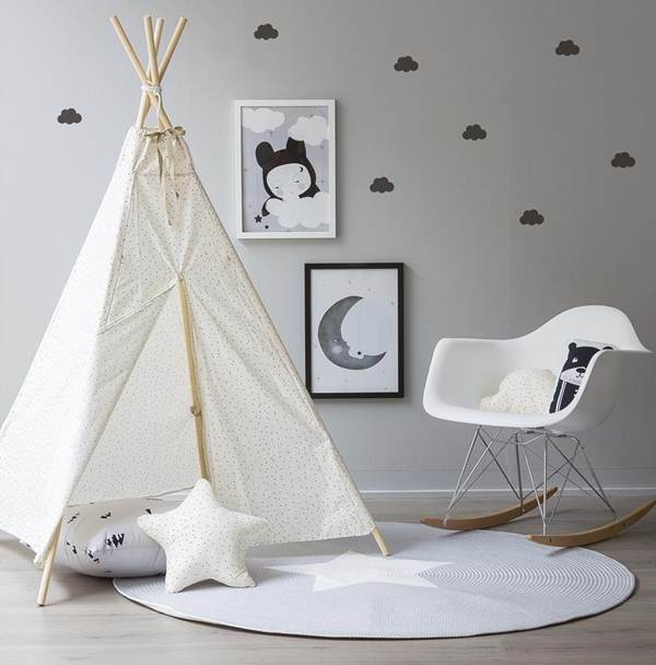 Ideas For Decorating a Children Room With Nordic Style 11