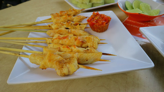 Sate Taichan Malang - Sataychan - piridifoodies food blogger malang