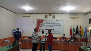KPU Kabupaten Bima Gelar  Rapat Penetapan Paslon Peserta Pilkada