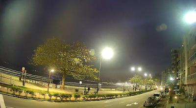 Avenida Beira Mar de Itapema ao vivo