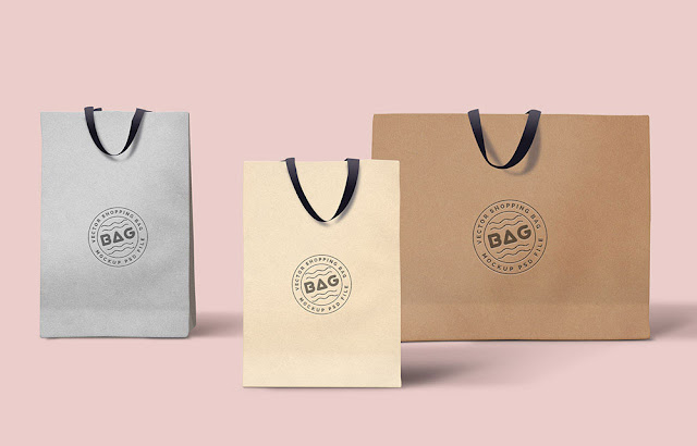 Shopping Bags PSD Mockup