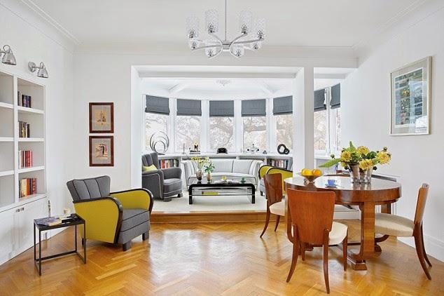 interior mix de estilos dec en una casa de 1900 On casa de interior de estilo art deco