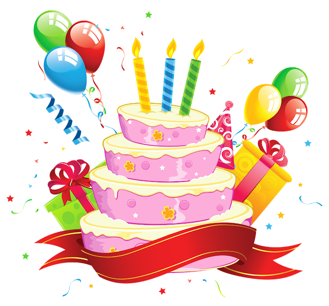 Happy Birthday To You Cake illustration free png