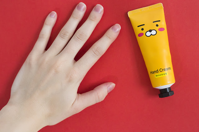 Kakao Friends Coconut & Shea Butter Hand Cream