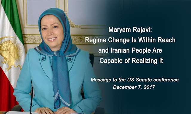 MARYAM RAJAVI: REGIME CHANGE IS WITHIN REACH AND IRANIAN PEOPLE ARE CAPABLE OF REALIZING IT