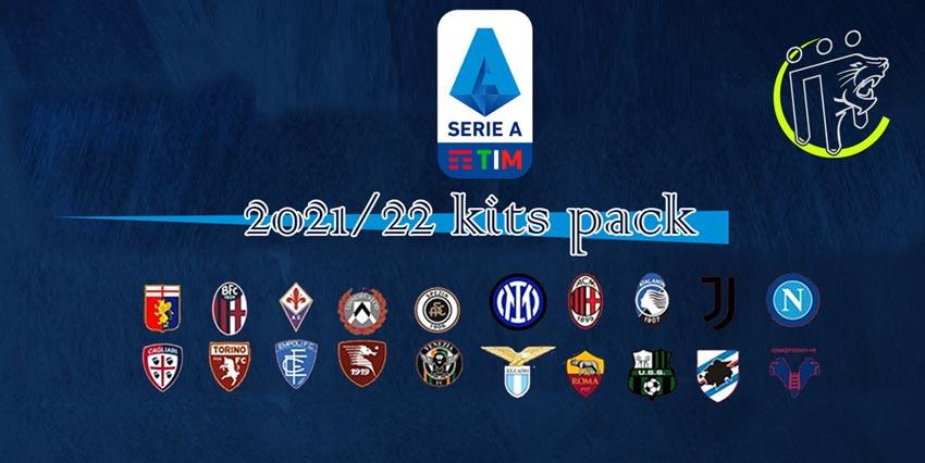 Serie A Kitpack Season 2021-2022 For PES 2013