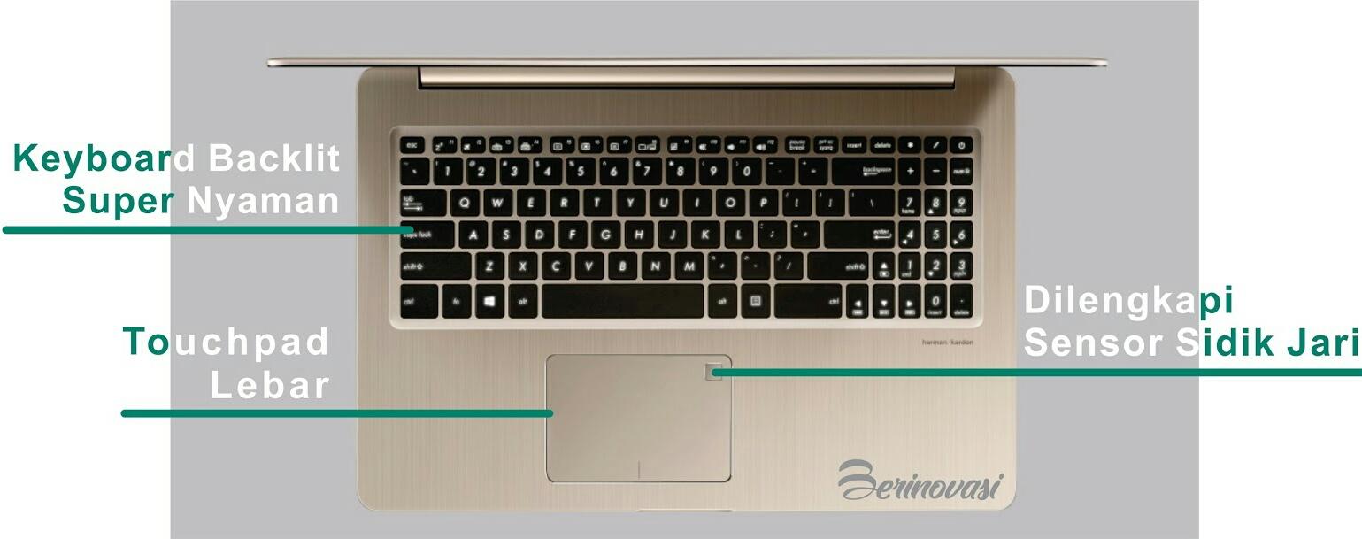 Keamanan dan kenyamanan ASUS Vivobook Pro 15 N580VD