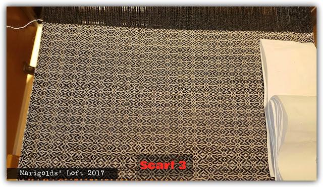 tussah/merino scarf
