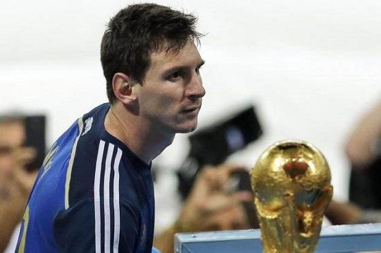 Messi ngậm ngùi trước chiến thắng của Đức