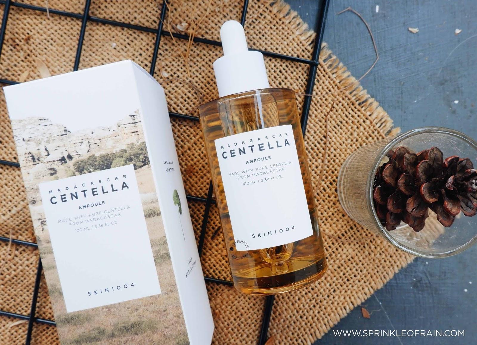 Skin1004 Madagascar Ampoule Review Untuk Kulit Berjerawat