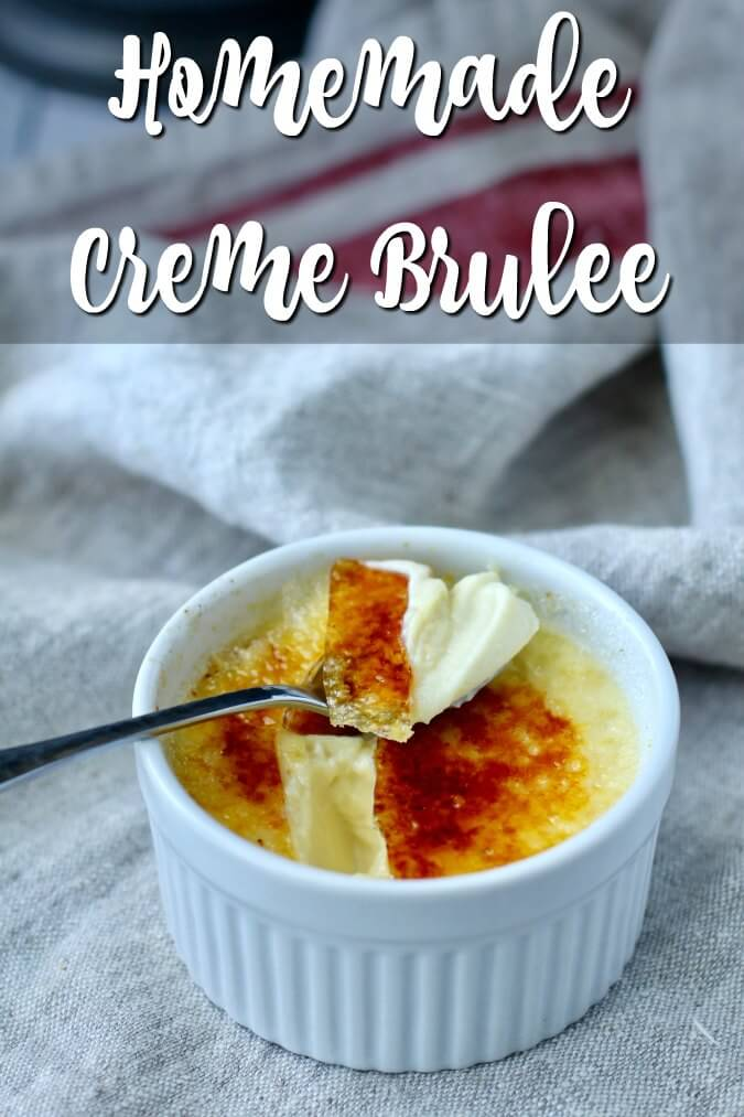 Crème Brûlée with Vanilla and Grand Marnier