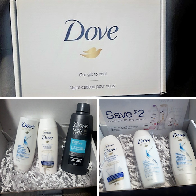 Dove Samplers in the Mail