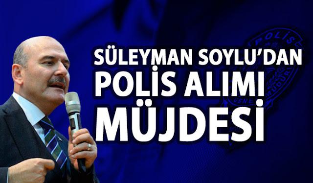 Süleyman Soylu polis alımı açıklaması