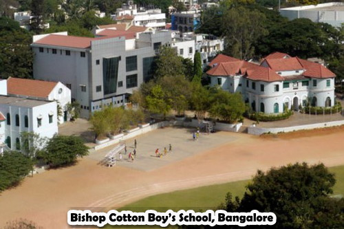 Bishop Cotton Boy's School, Bangalore