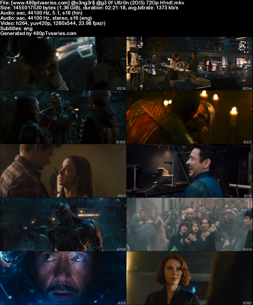 Download Avengers: Age of Ultron (2015) Full Hindi Dual Audio Movie Download 720p Bluray Free Watch Online Full Movie Download Worldfree4u 9xmovies