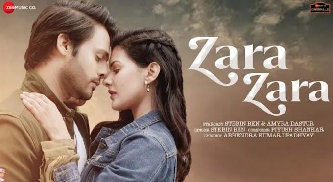 Zara Zara Song Lyrics - Stebin Bin | Amyra Dastur