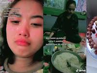 Viral Merayakan Ulang Tahun ke 17 Gadis Ini Cuma di hadiri 1 Orang Temannya, Padahal Sudah Masak Banyak, Kasihan Mamanya