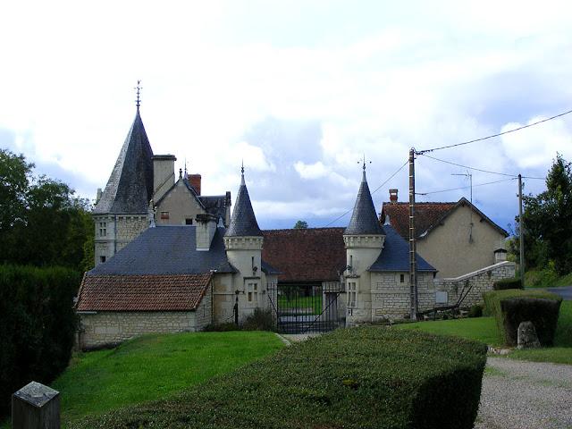 Chateau de la Moraliere, Vienne, France. Photo by Loire Valley Time Travel.