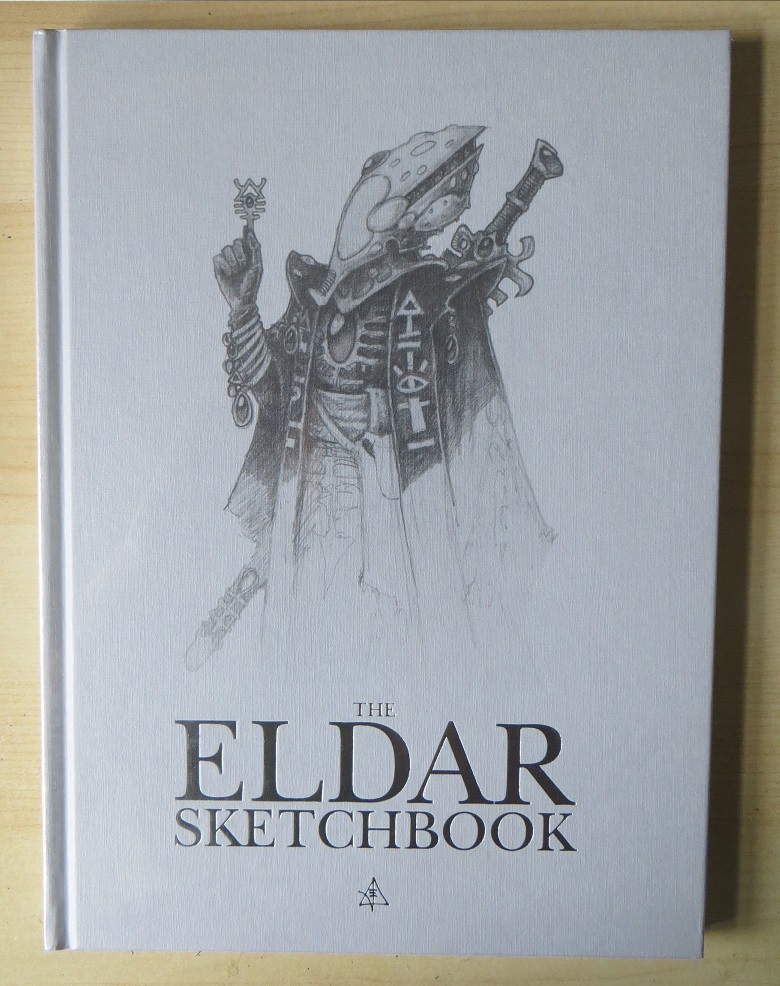 Book Cover Design Sketch : Magpie and old lead the eldar sketchbook a review