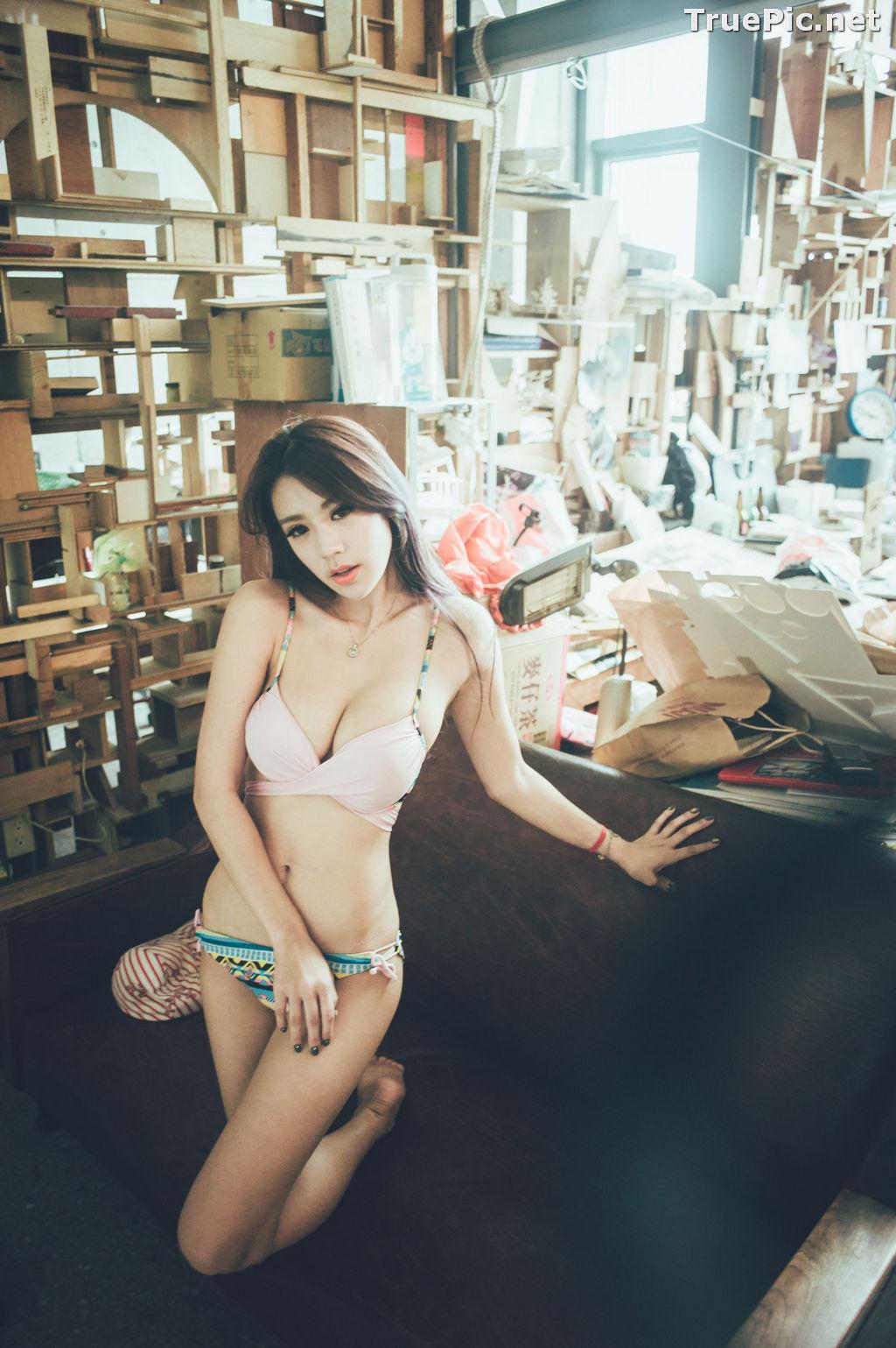 Image Taiwanese Model - 魏曼曼 (Amanda) - Bikini In The Room - TruePic.net - Picture-1