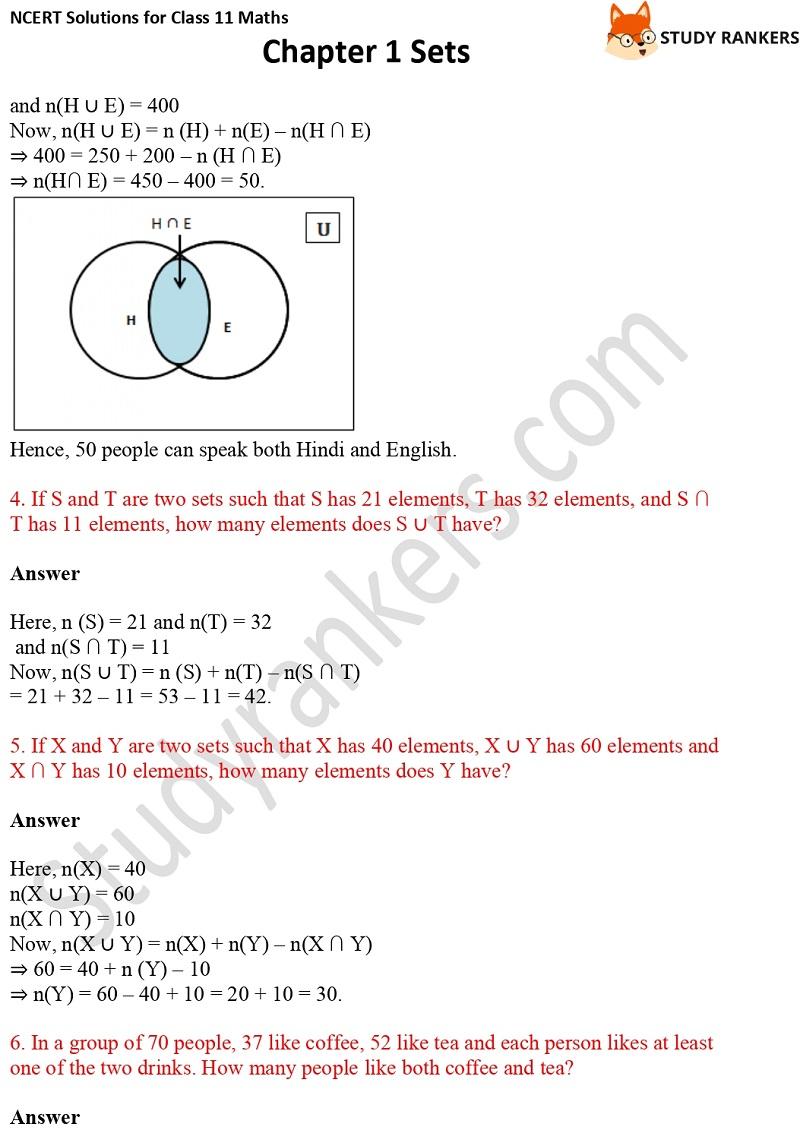 NCERT Solutions for Class 11 Maths Chapter 1 Sets 21