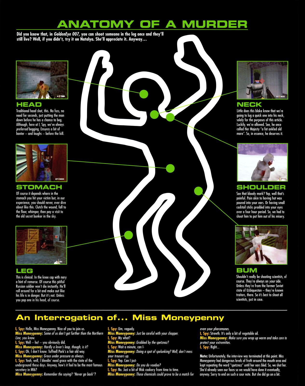 GoldenEye: Decoded: Anatomy Of A Murder (iSpy Magazine - Volume 58 ...