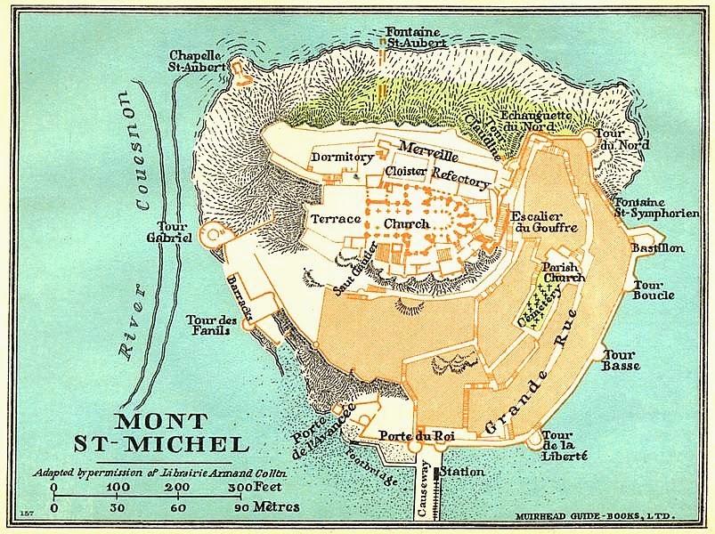 Art Now And Then Mont Saint Michel