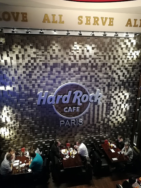 Hard Rock Cafe Paris HRC This is Hard Rock restaurant