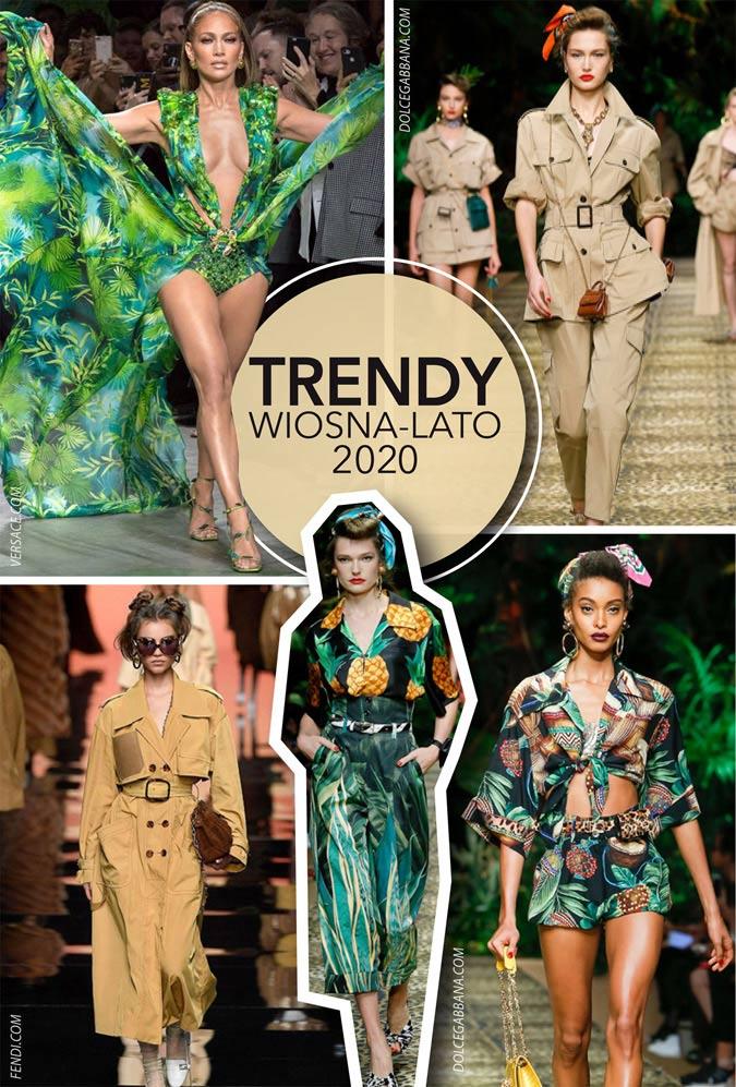 Trendy wiosna-lato 2020