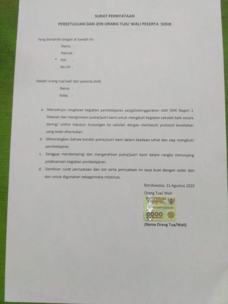 Contoh Surat Perjanjian Hutang Piutang Diatas Materai Doc Triprofik Com