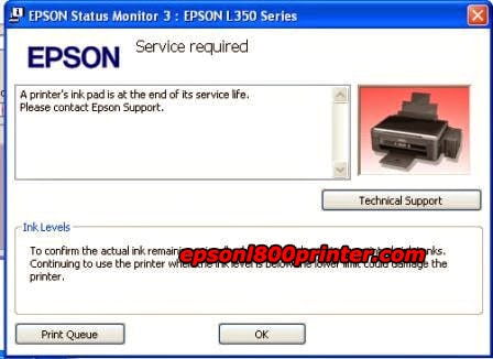 Epson Printers End Of Service Life