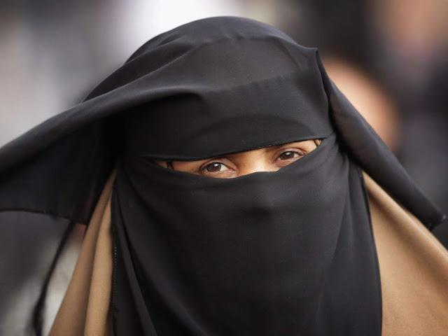 Danish police fine turkish  tourist for wearing face veil