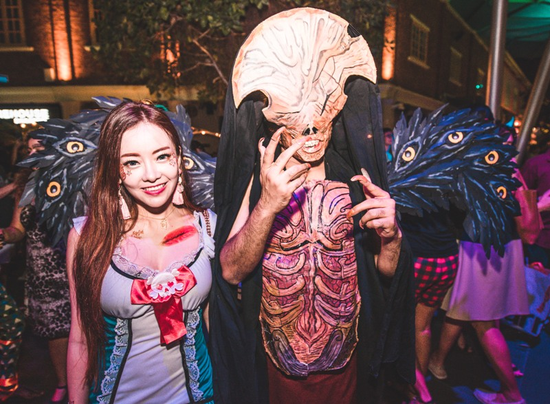 clarke quay halloween costume dress up