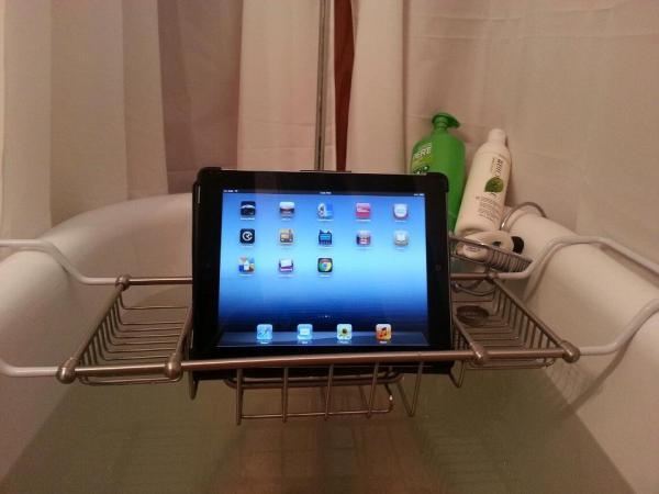 Ipad Tablet Tub Caddy